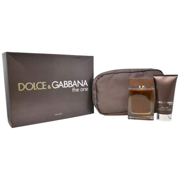 Dolce & Gabbana 'The One' Men's 3-piece Gift Set