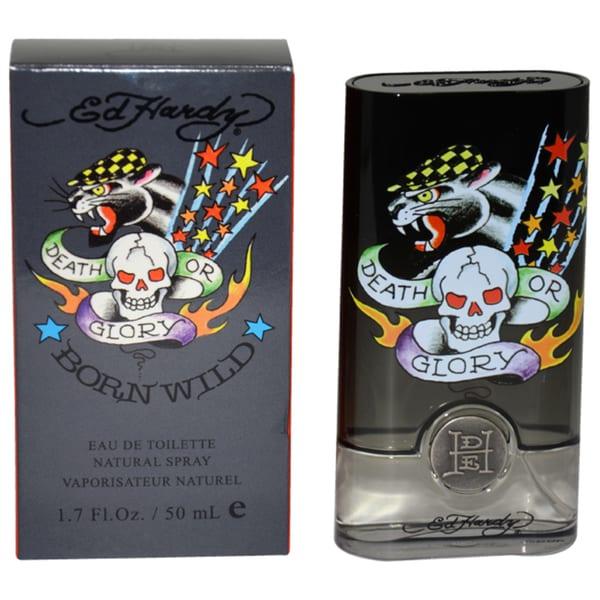 Ed Hardy Born Wild Men's 1.7-ounce Eau de Toilette Spray