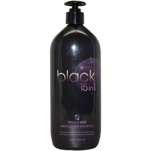 Black 15 in 1 Miracle 26.4-ounce Hair Shampoo