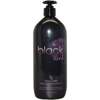 Black 15 in 1 Miracle 26.4-ounce Hair Shampoo