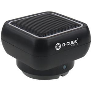 G-Cube BLUETOOTH V3.0 PORTABLE SPEAKER BLACK VIA ERGOGUYS