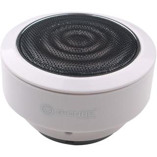 G-Cube BLUETOOTH V3.0 PORTABLE SPEAKER WHITE VIA ERGOGUYS