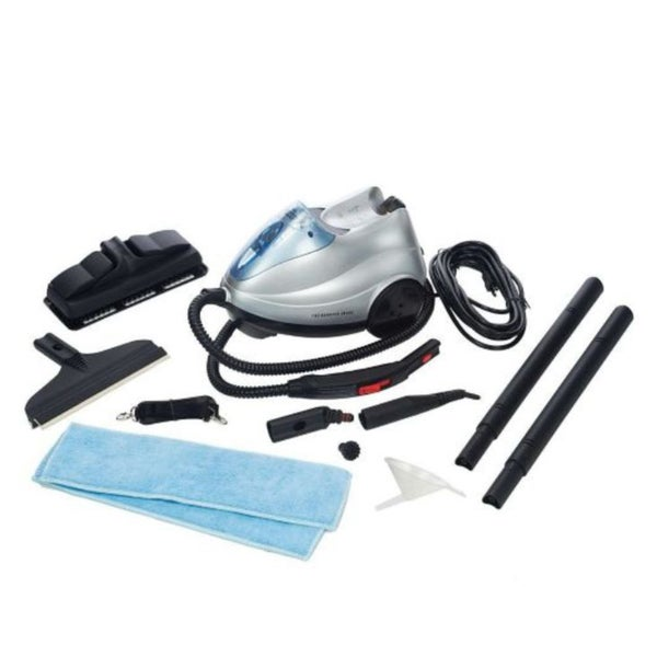 Sharper Image Multi-purpose Steam Cleaning System with Accessories (Refurbished)