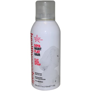 Healthy Sexy Hair Soya Want Flat Hair 5.3-ounce Flat Iron Spray