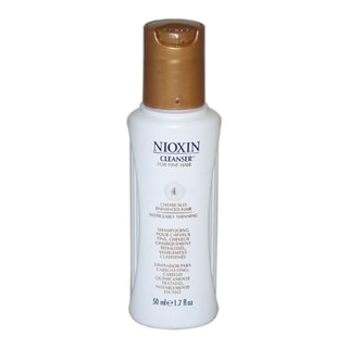 Nioxin System 4 Cleanser for Fine Chemically Enhanced Noticeably Thinning Hair