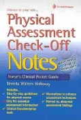Physical Assessment Check-Off Notes: Nurse's Cinical Pocket Guide (Paperback)