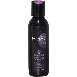 Black 15 in 1 Miracle Hair 2-ounce Shampoo