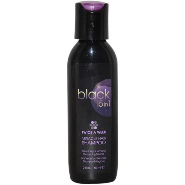Black 15 in 1 Miracle Hair 2-ounce Shampoo