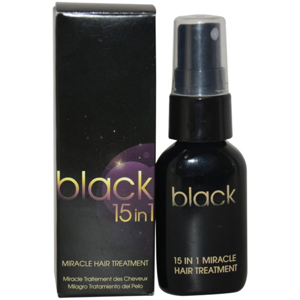 Black 15 in 1 Miracle 1-ounce Hair Treatment