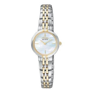 Citizen Women's Two-tone Eco-Drive Silhouette Watch