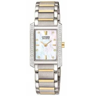 Citizen Women's Two-tone Eco-Drive Palidoro Diamond Watch