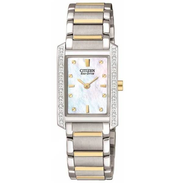 Citizen Women's Two-tone Eco-Drive Palidoro Diamond Watch