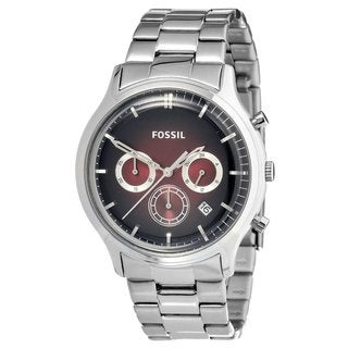 Fossil Men's Stainless Steel 'Ansel' Watch