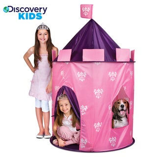 Discovery Kids Indoor/ Outdoor Princess Play Castle