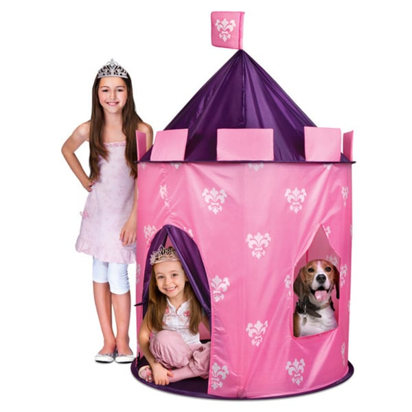 Discovery Kids Indoor/ Outdoor Princess Play Castle 13981150