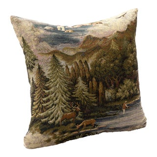 'Field and Stream' Nature Scene Accent Pillow