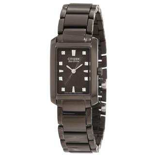 Citizen Women's Eco-Drive Black Palidoro Watch