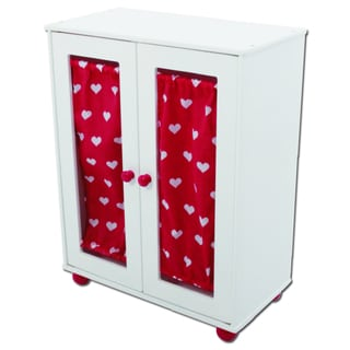 The New York Doll Collection Doll Armoire Closet
