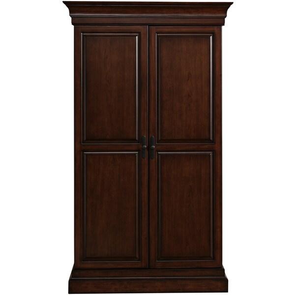 Ashley Heights Home Bar Wine Cabinet