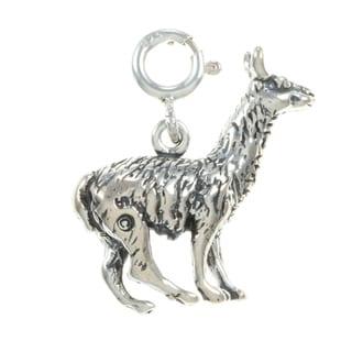 Sterling Silver Llama Charm