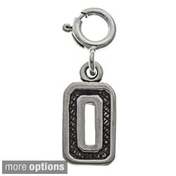Sterling Silver Number Charm