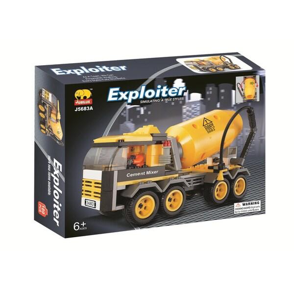Fun Blocks Cement Mixer Truck Brick Set