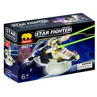 Fun Blocks Star Fighter Brick Set D