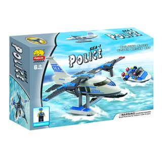 Fun Blocks Police Water Plane Brick Set