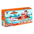 Fun Blocks Fire Rescue Boat 5-in-1 Brick Set
