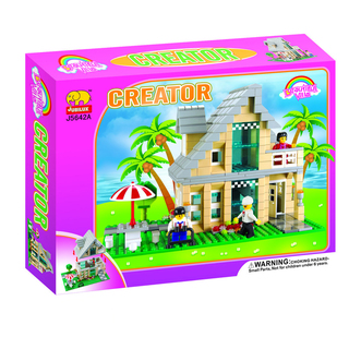 Fun Blocks City Diorama (E) - Beach House (466 pieces)