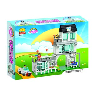 Fun Blocks City Diorama Sweet Home Brick Set