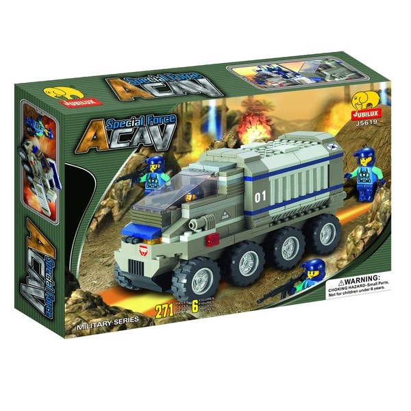 Fun Blocks 'Army Troopers' Brick Set D (271 pieces)