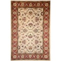Hand-tufted Persian Beige Wool Rug (5' x 8')