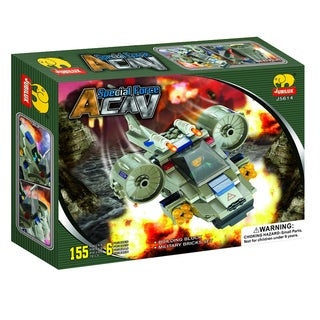 Fun Blocks 'Army Troopers' Brick Set I (155 pieces)