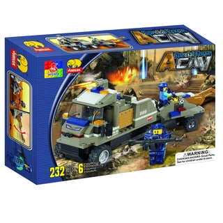 Fun Blocks 'Special Forces' Military Brick Set B (232 pieces)