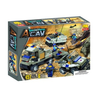Fun Blocks 'Special Forces' Military Brick Set A (451 pieces)