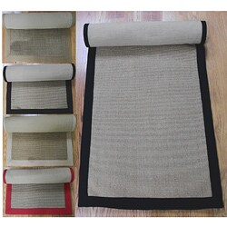 Woven Real Sisal Jute Rug (2'6 x 8')