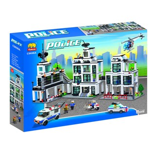Fun Blocks POLICE Series Set A (1242 pieces)