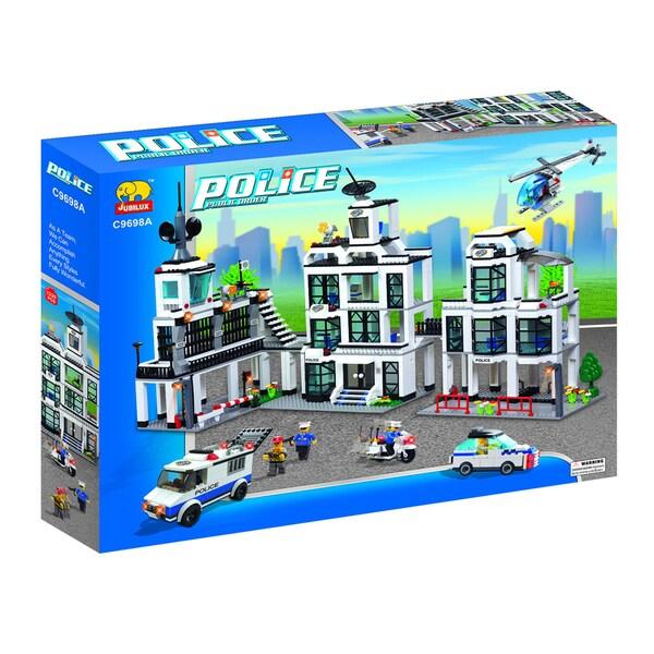 Fun Blocks POLICE Series Set A (1242 pieces)