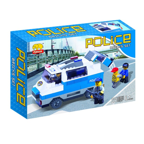 Fun Blocks POLICE Series Set D (225 pieces)