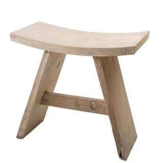 Reclaimed Teak Zen Stool (Indonesia)