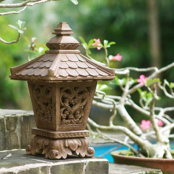 Volcaninc Ash Elegant Ikekomi-Gata 'Small Lantern' (Indonesia)
