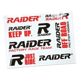 Raider Brand Decal Sheet