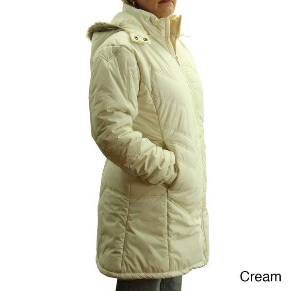 Totes Women's Hooded Winter Coat