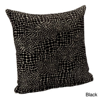 Square Reptillian Accent Pillow