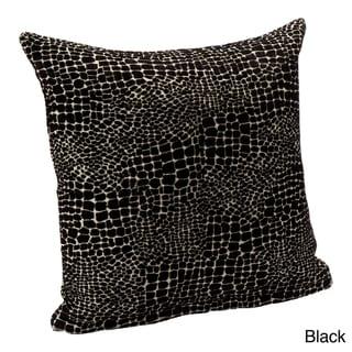 Square Reptillian Accent Pillow