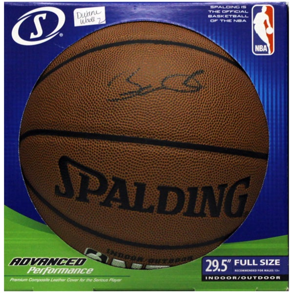 Dwayne Wade Autograph Basketball