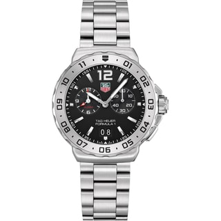Tag Heuer Men's Steel 'Formula 1' Grande Date Watch