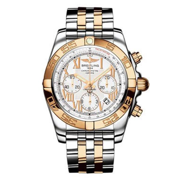 Breitling Men's Two-tone 'Chronomat' Automatic Chronograph Watch
