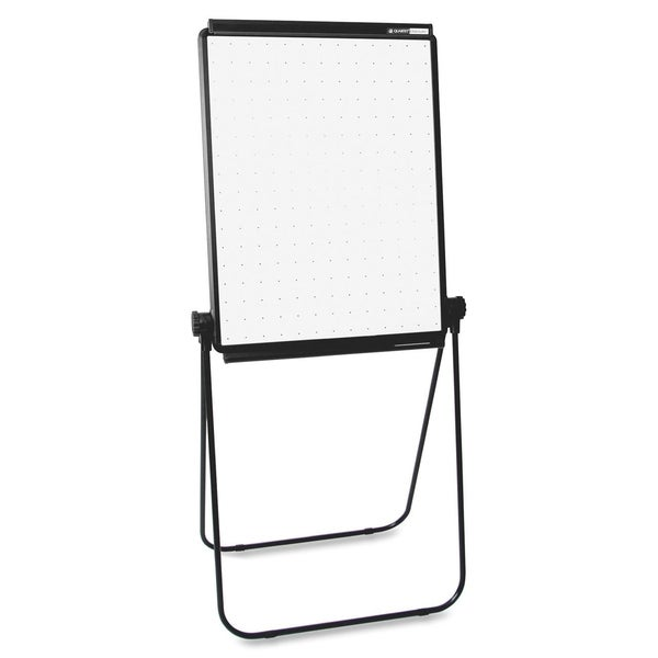 26 x 34 Portable Standing Easel Whiteboard with Flip-chart Retainer